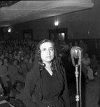 Taken from International PEN. Musine Kokalari at the 1946 Trial.