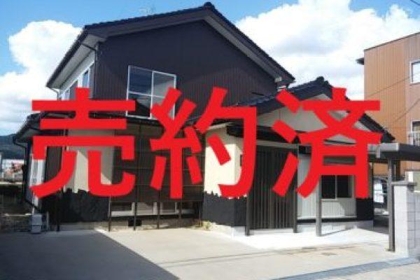 小矢部市岡リノベーション済み中古住宅、無事ご成約いただきました。副題:クルマは仕事のモチベーション?