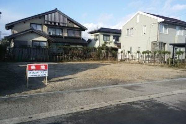 高岡市福岡町で、明るく、伸び伸びとした暮らしをお考えの方へ。福岡町木舟住宅用地 650万円