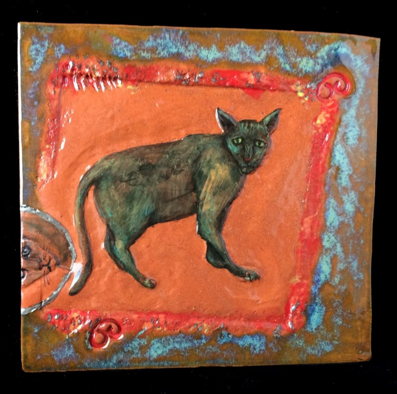 Cat tile.
