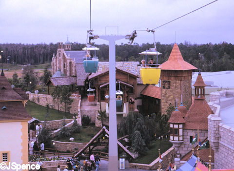 Image result for magic kingdom skyway