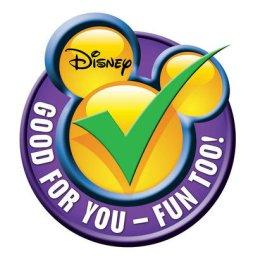 Disney green check - healthy food program