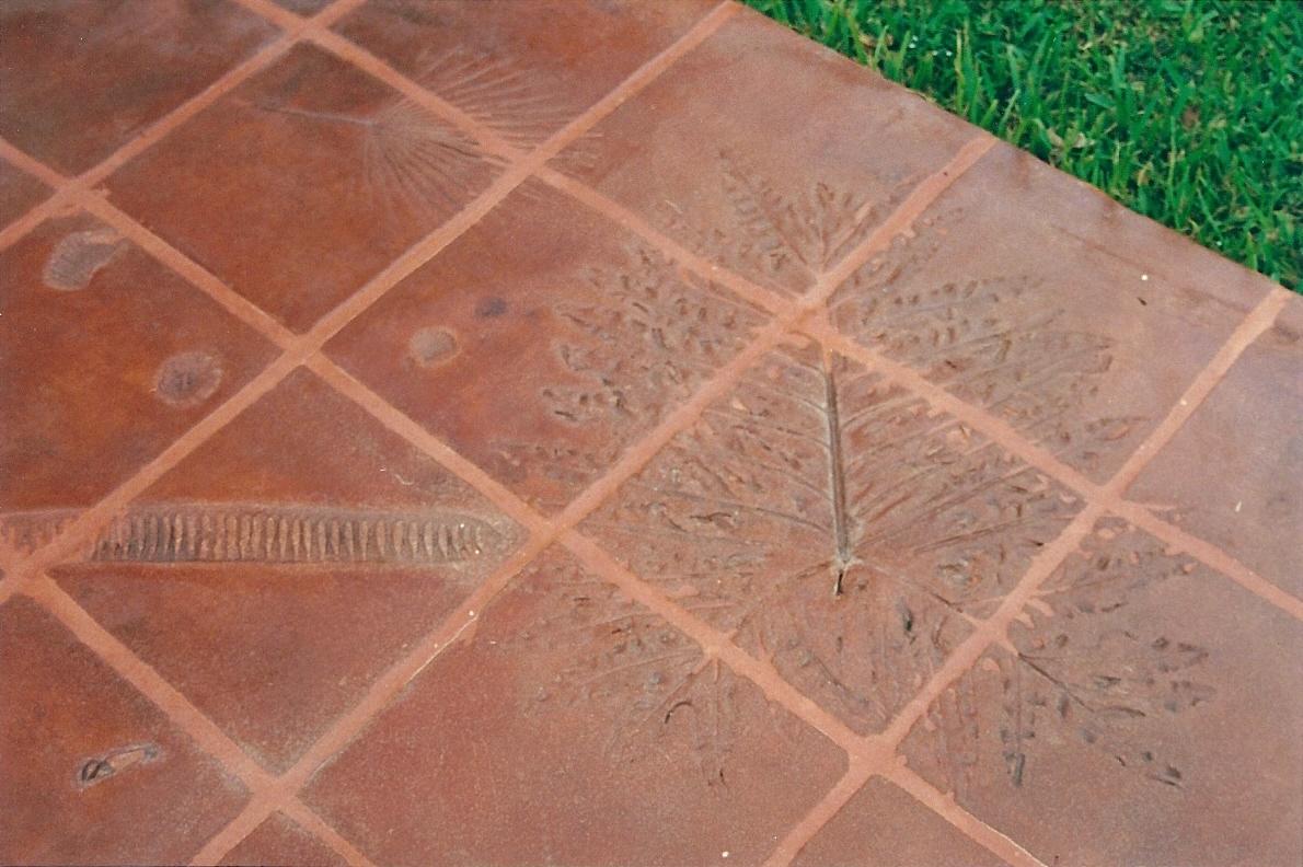 patio floor mexican tile land8