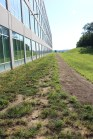 The new building also has new walkways designed for employees to enjoy the great outdoors. Photo by Lanny Brannock.