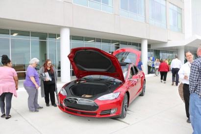The Tesla S.