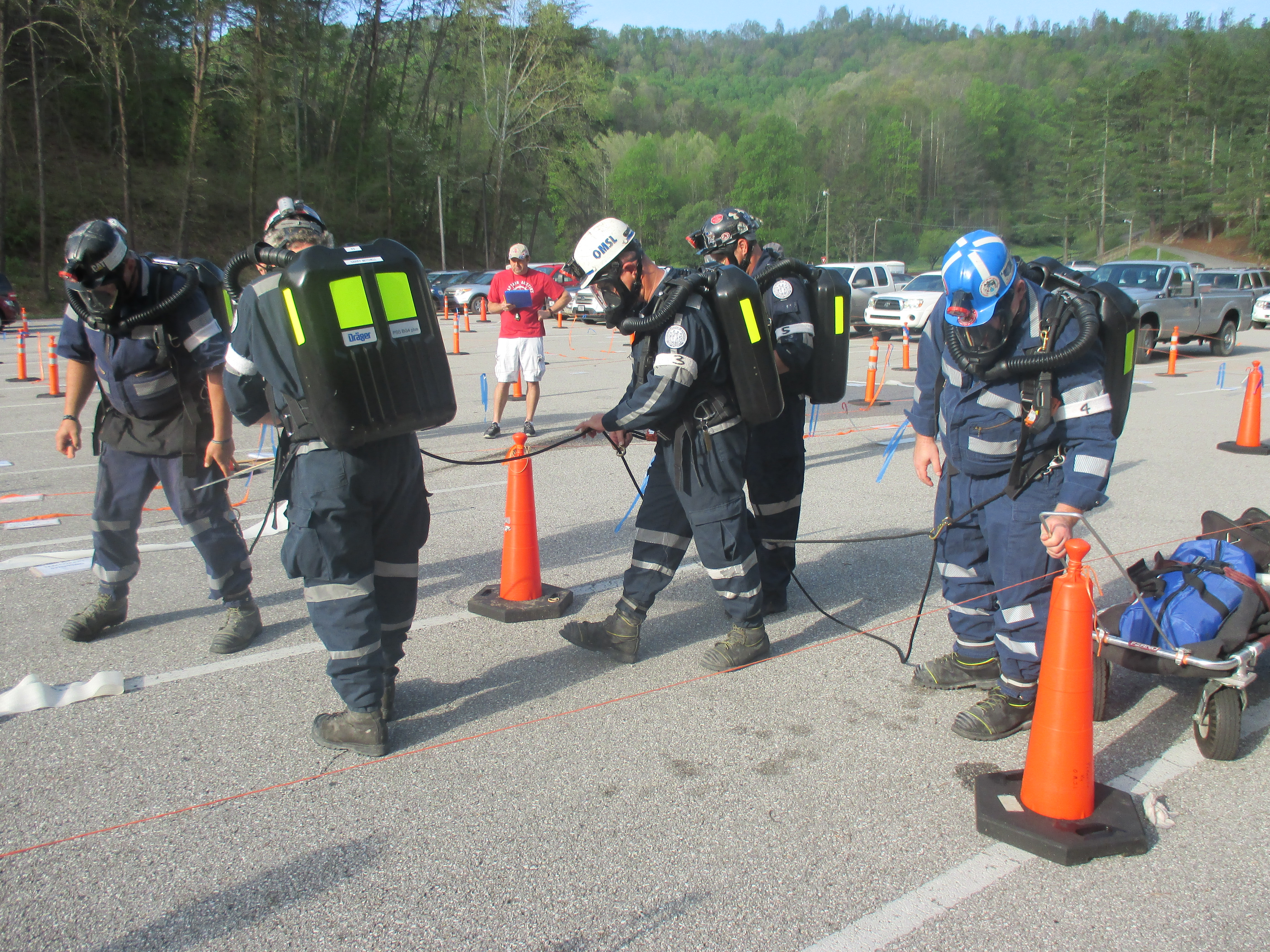 Mine Safety Competition at Jenny Wiley State Park Sharpens Skills
