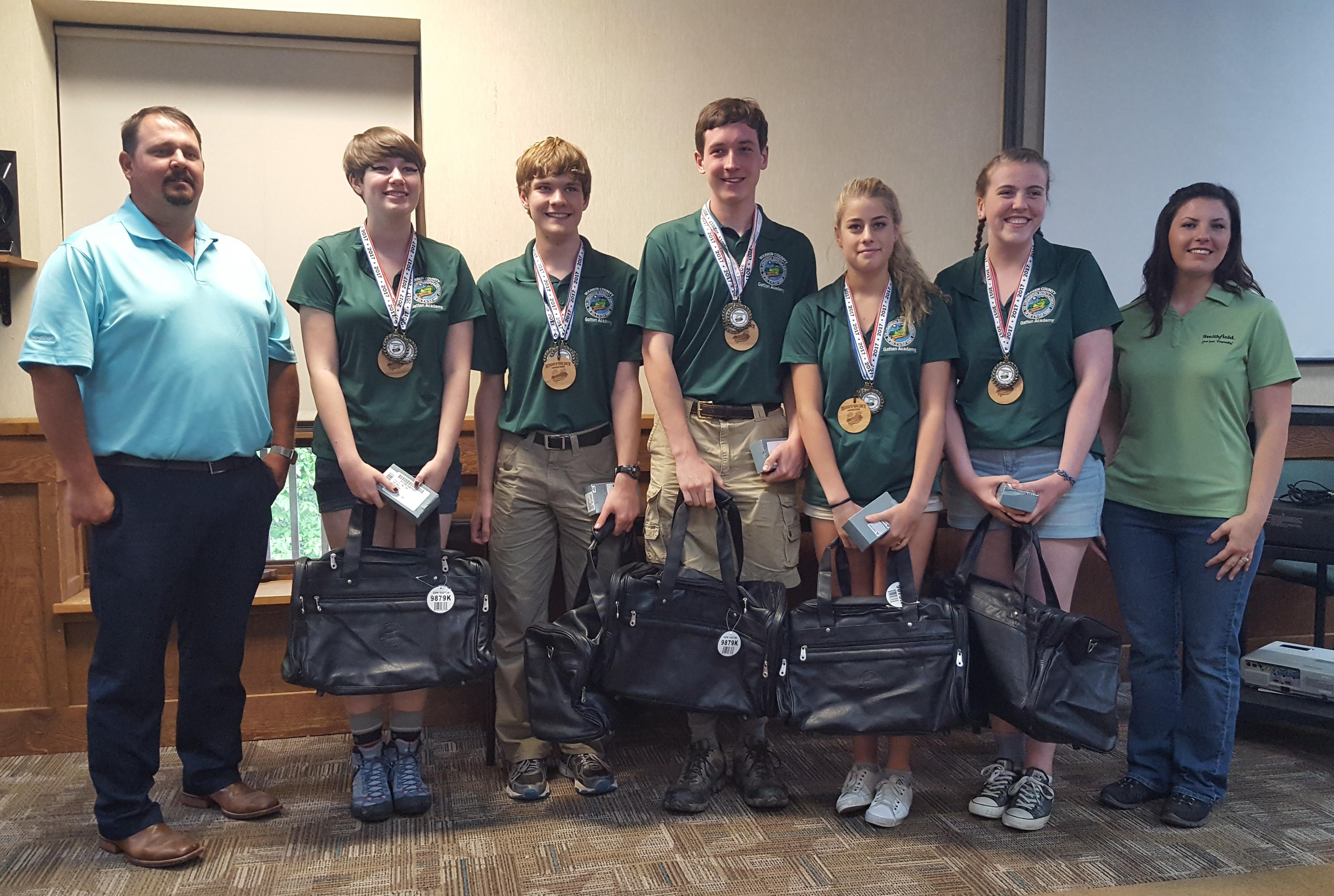 10 teams advance to represent the Commonwealth at the North American Envirothon competition