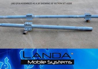 LMS-GP30-GIN-POLE-20′
