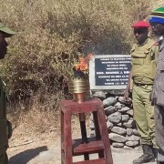 Uhuru Torch at Randalien Gate