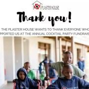 Over $20,000 for Plaster House!