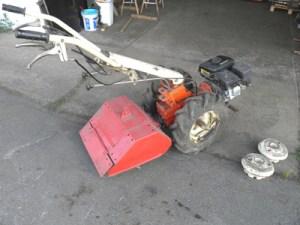 Ein-Achs-Traktor der Fa. Eumot