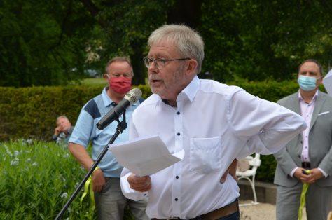 Pfarrer i. R. Dr. Ulrich Becke (Foto: Petra Ihm-Fahle)