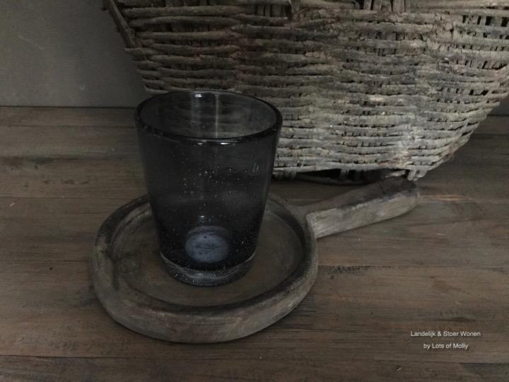 Broste glas Tumbler grijs