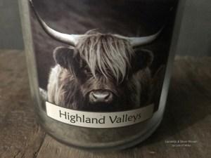 Highland Valleys herfst geurkaars