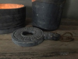 Decoratieve houten sleutels van Aura Peeperkorn