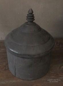 Houten Tika box uit India
