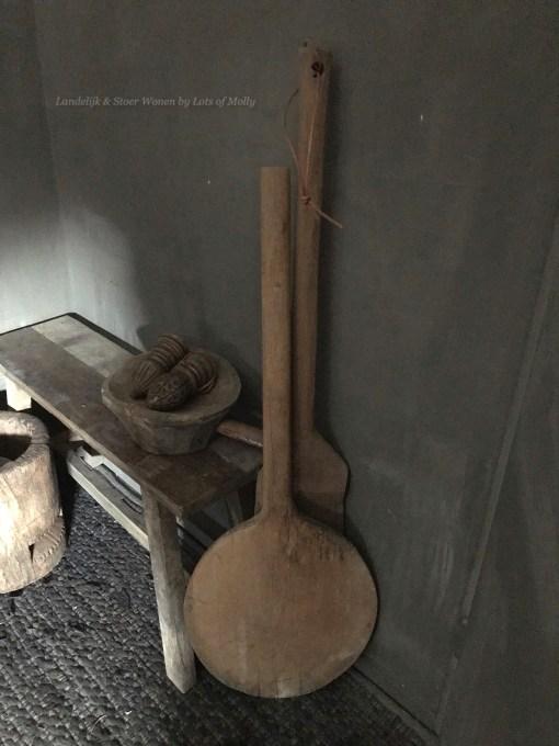 oud houten lepel