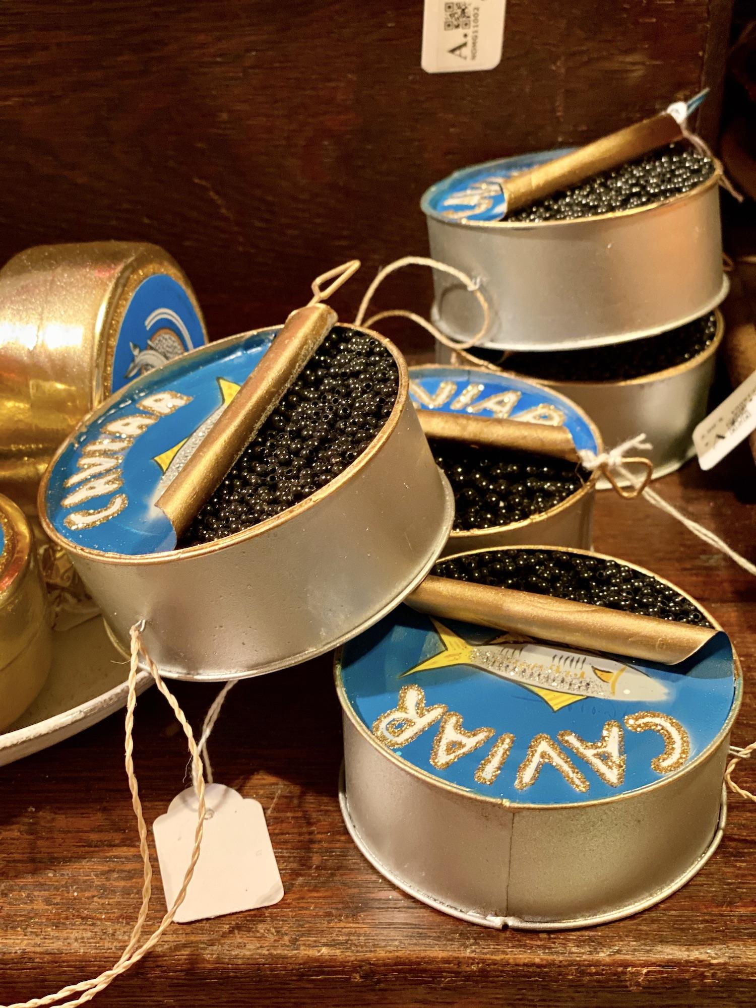 Astier de Villatte Caviar Ornament