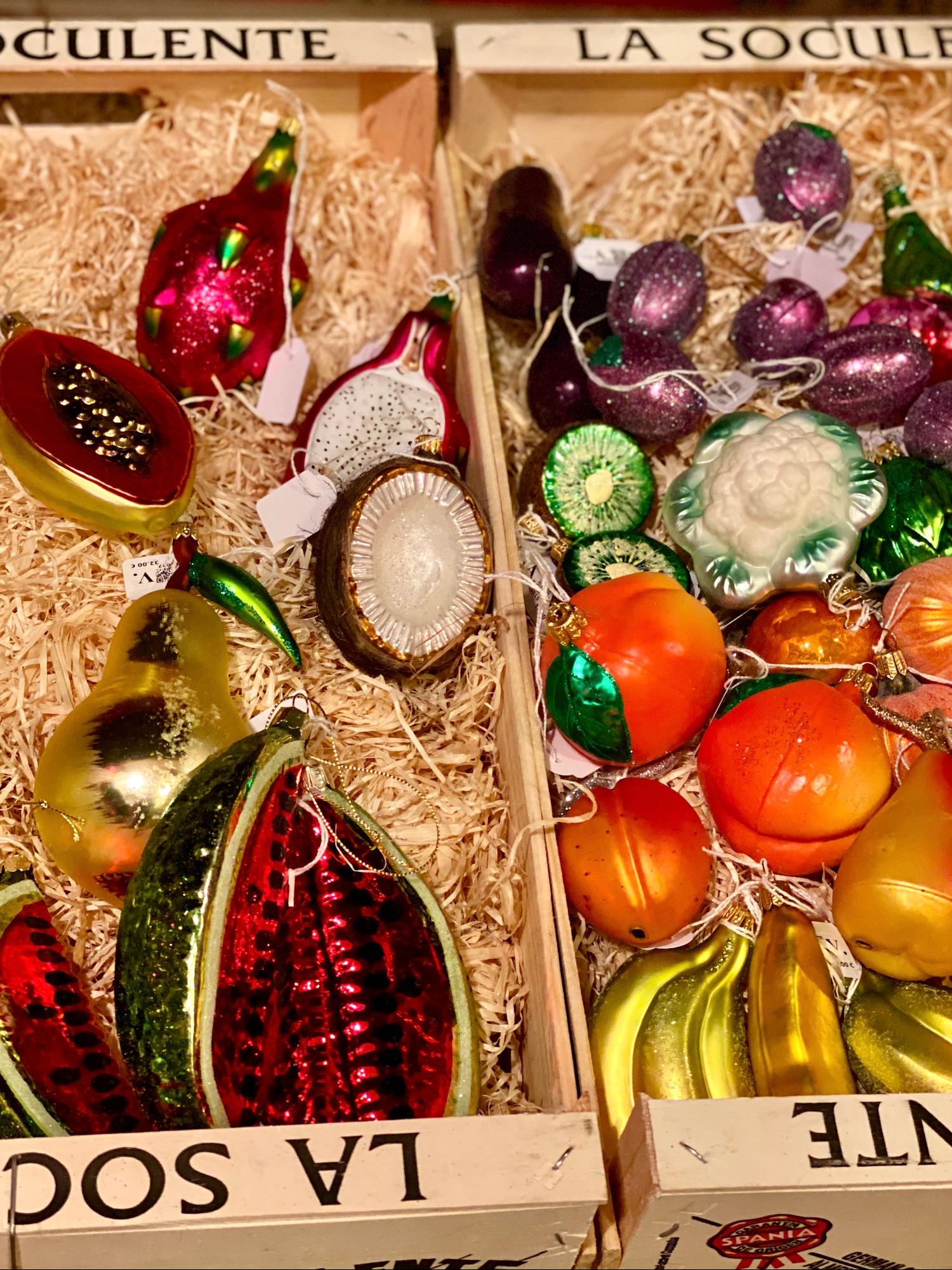 Christmas Ornament Fruit