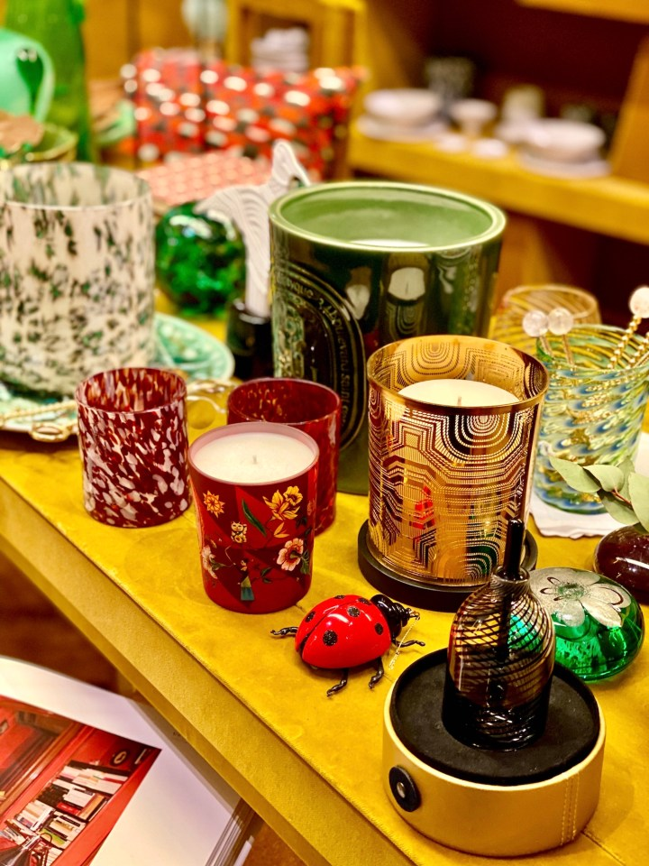 Christmas in Paris: Diptyque Bazar