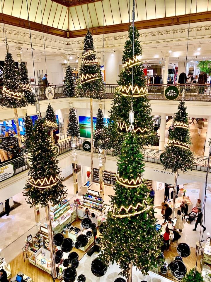 Christmas in Paris Rue du Bac Gift Guide Le Bon Marche