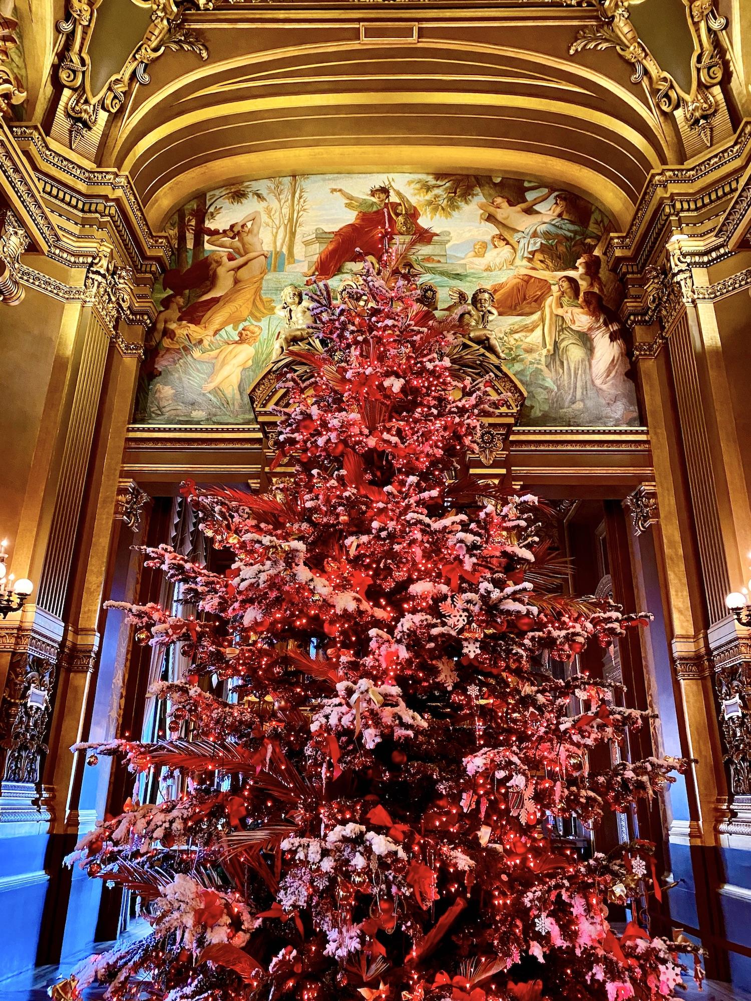 Palais Garnier Private Tour Tree