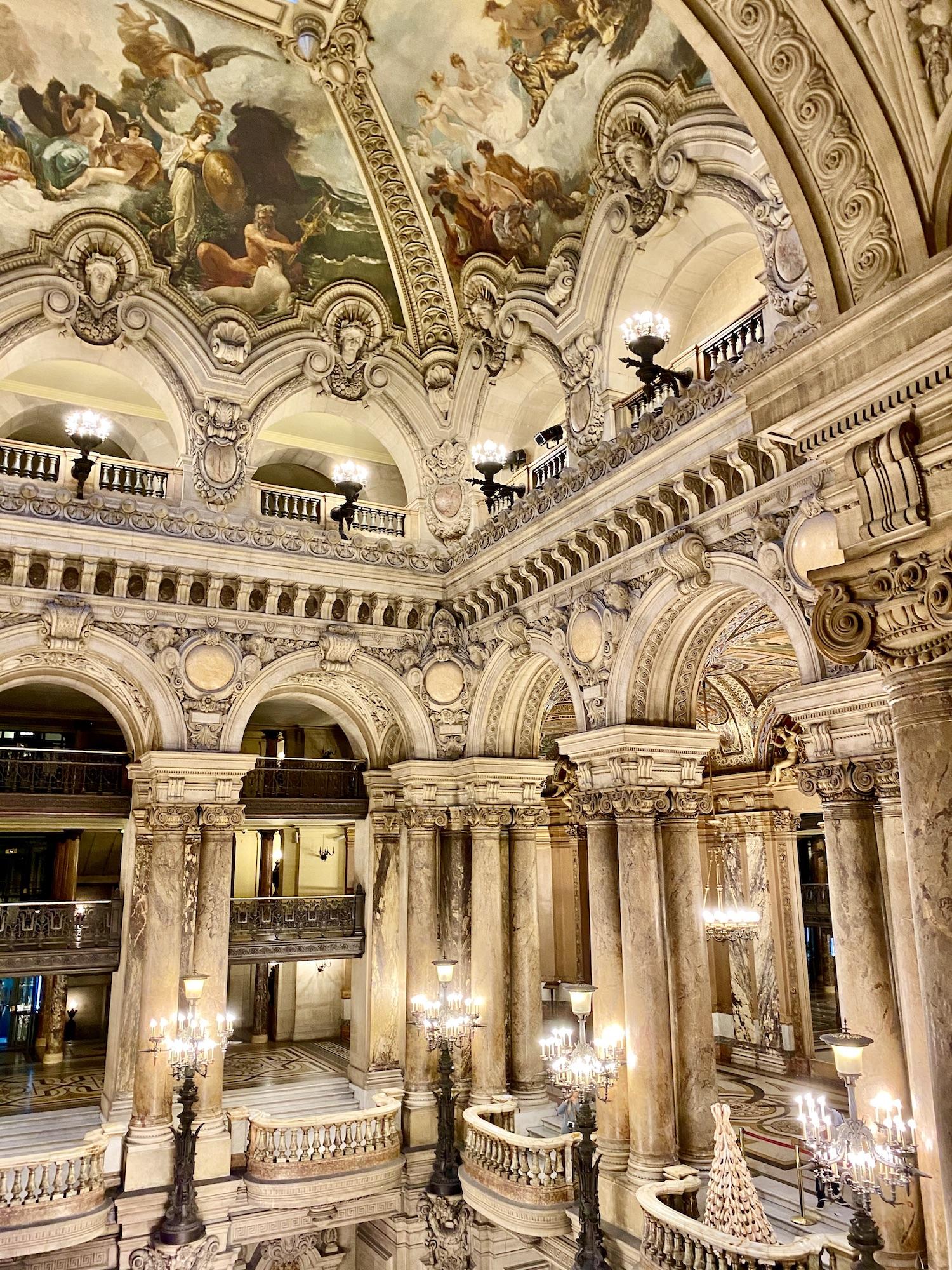 Palais Garnier Private Tour Foyer