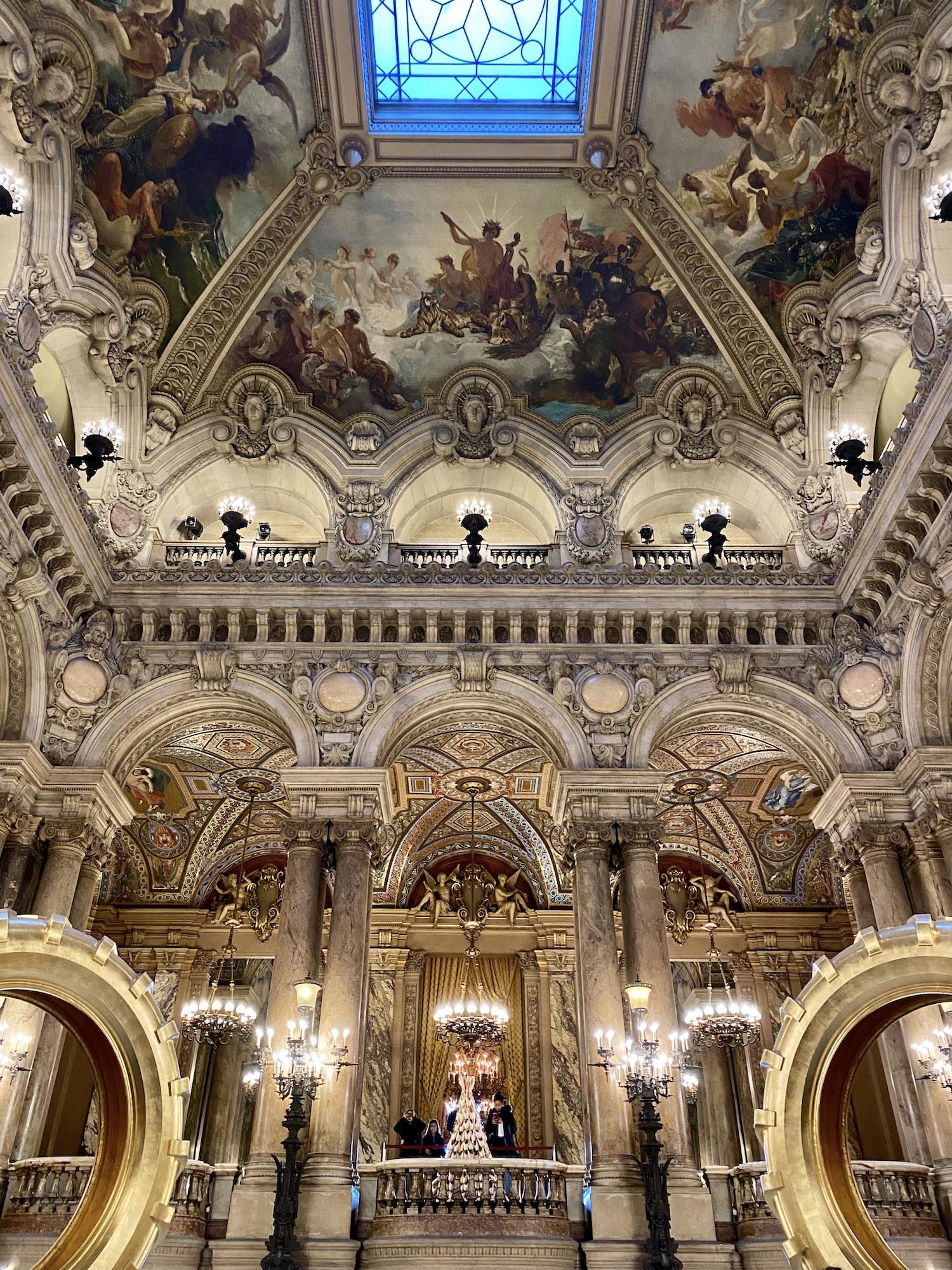 Foyer Stairs Palais Garnier