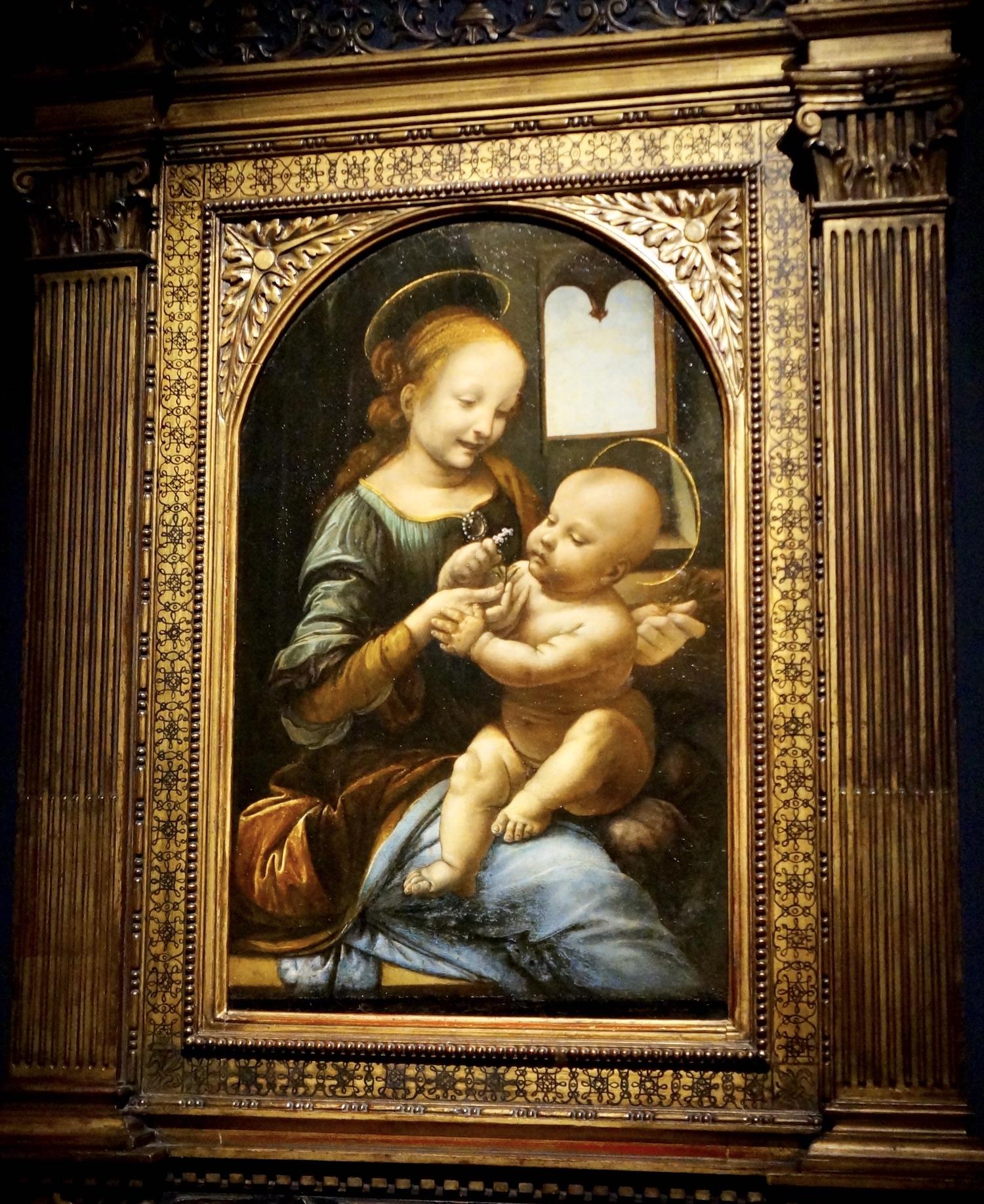 Benois Madonna Da Vinci