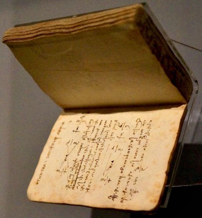 Leonardo Da Vinci Notebook