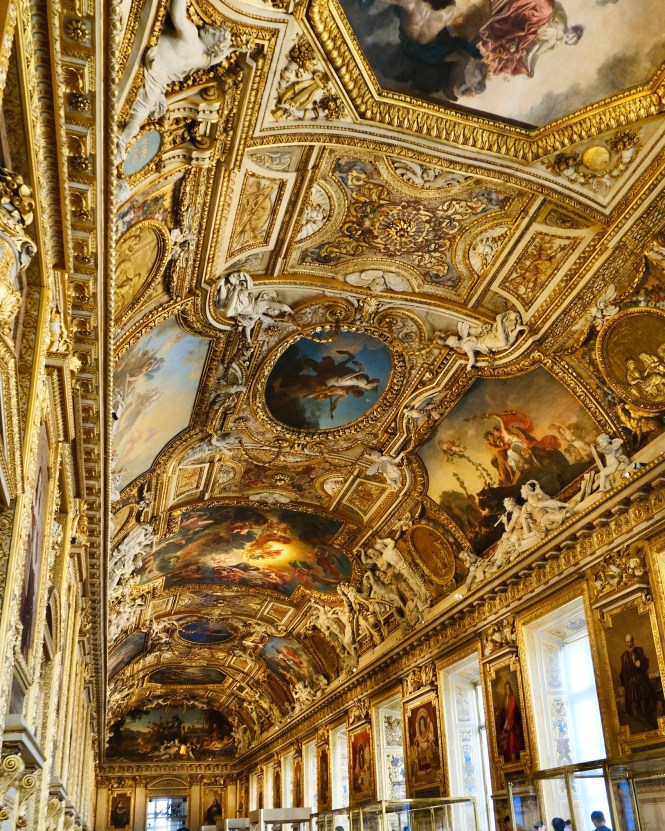 Galerie d'Apollon Louvre