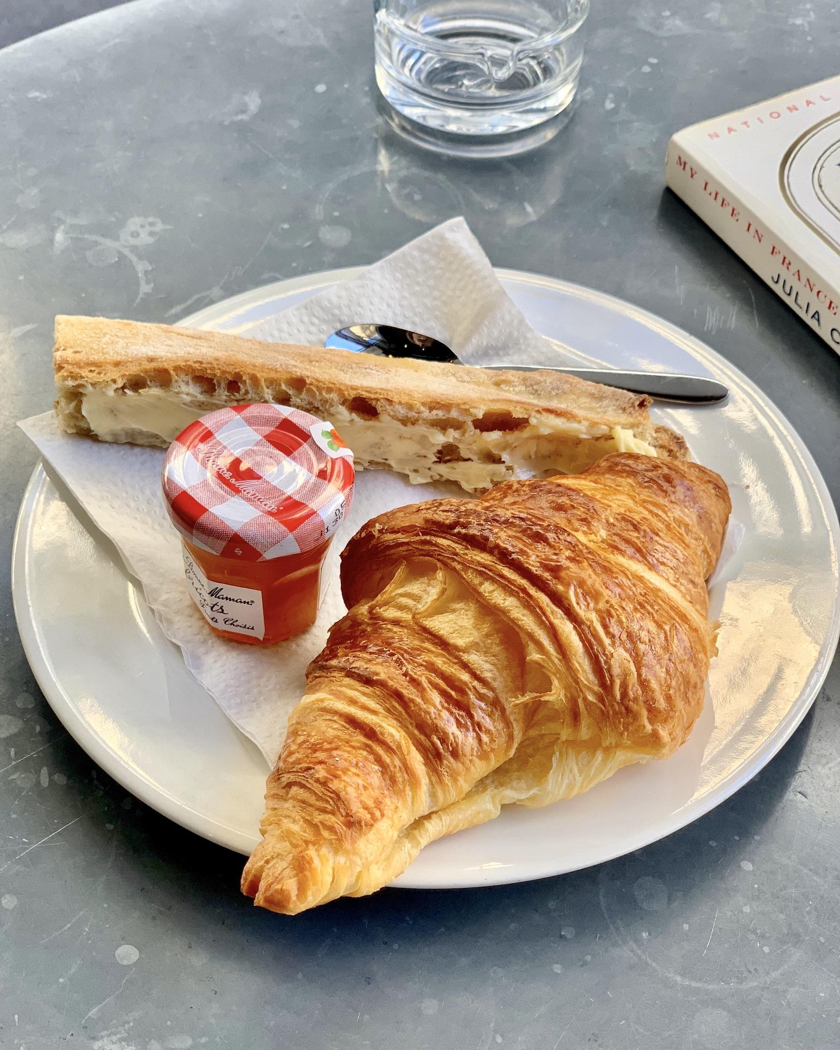 Valentine's Day Paris Croissant