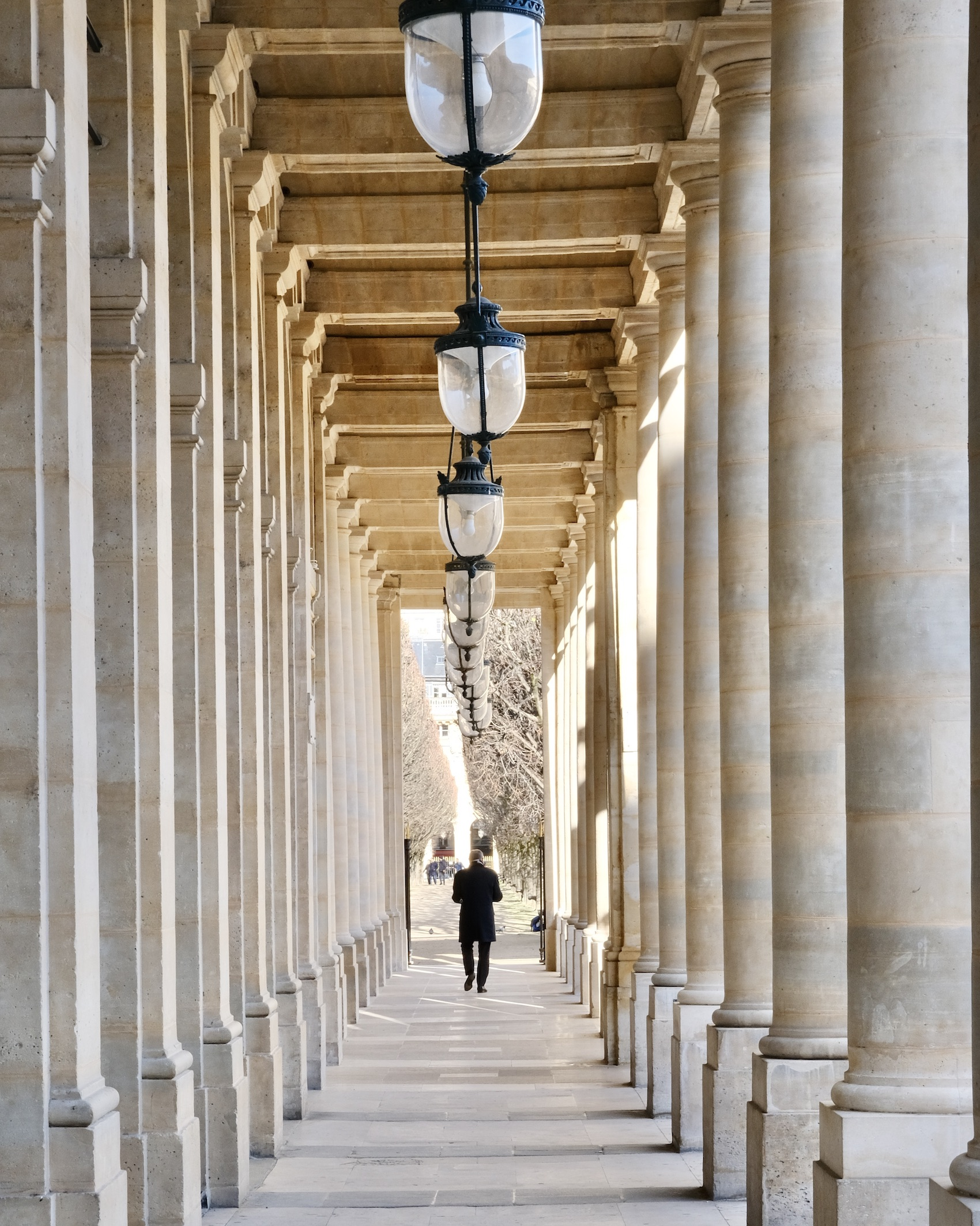 Stroll through Palais Royal