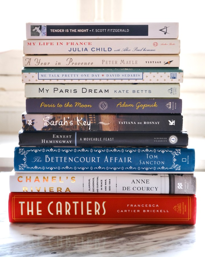 Reading List: Books about Paris and France