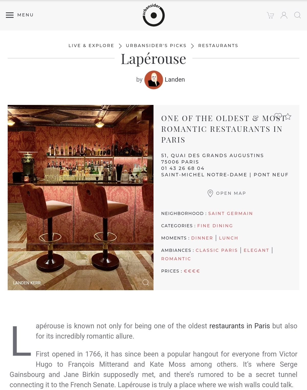 Urbansider Laperouse Review