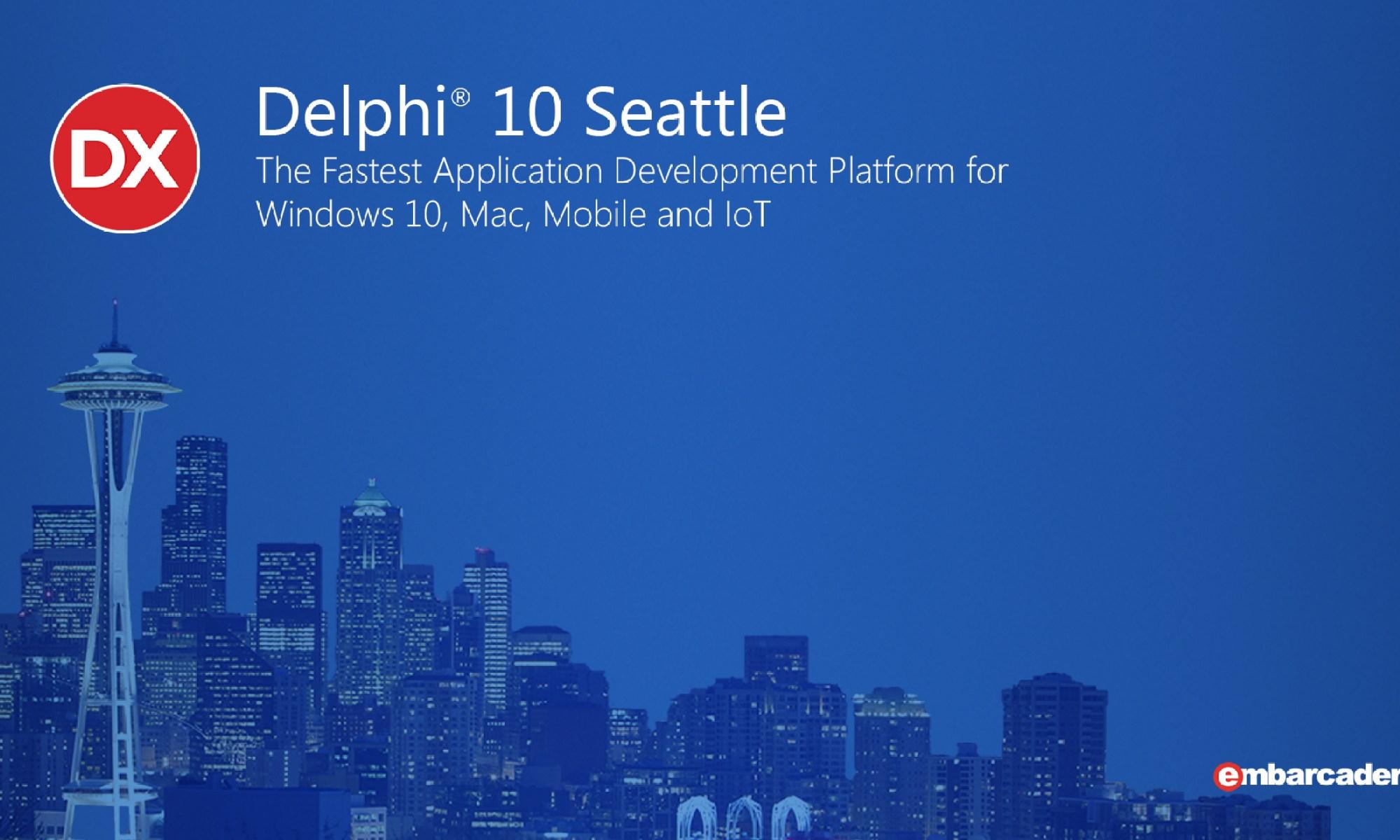 Delphi 10 Seattle