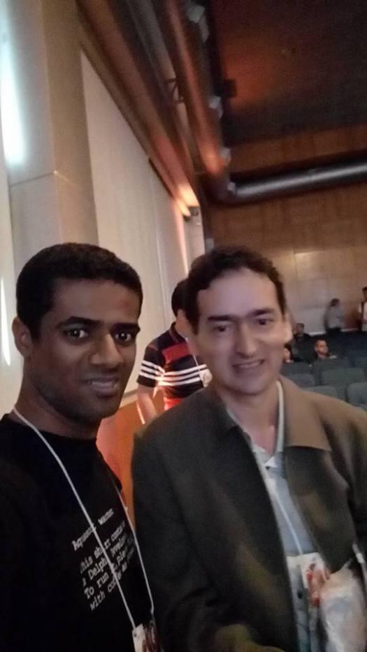 Eu e Maurício Abreu - Embarcadero Conference 2016