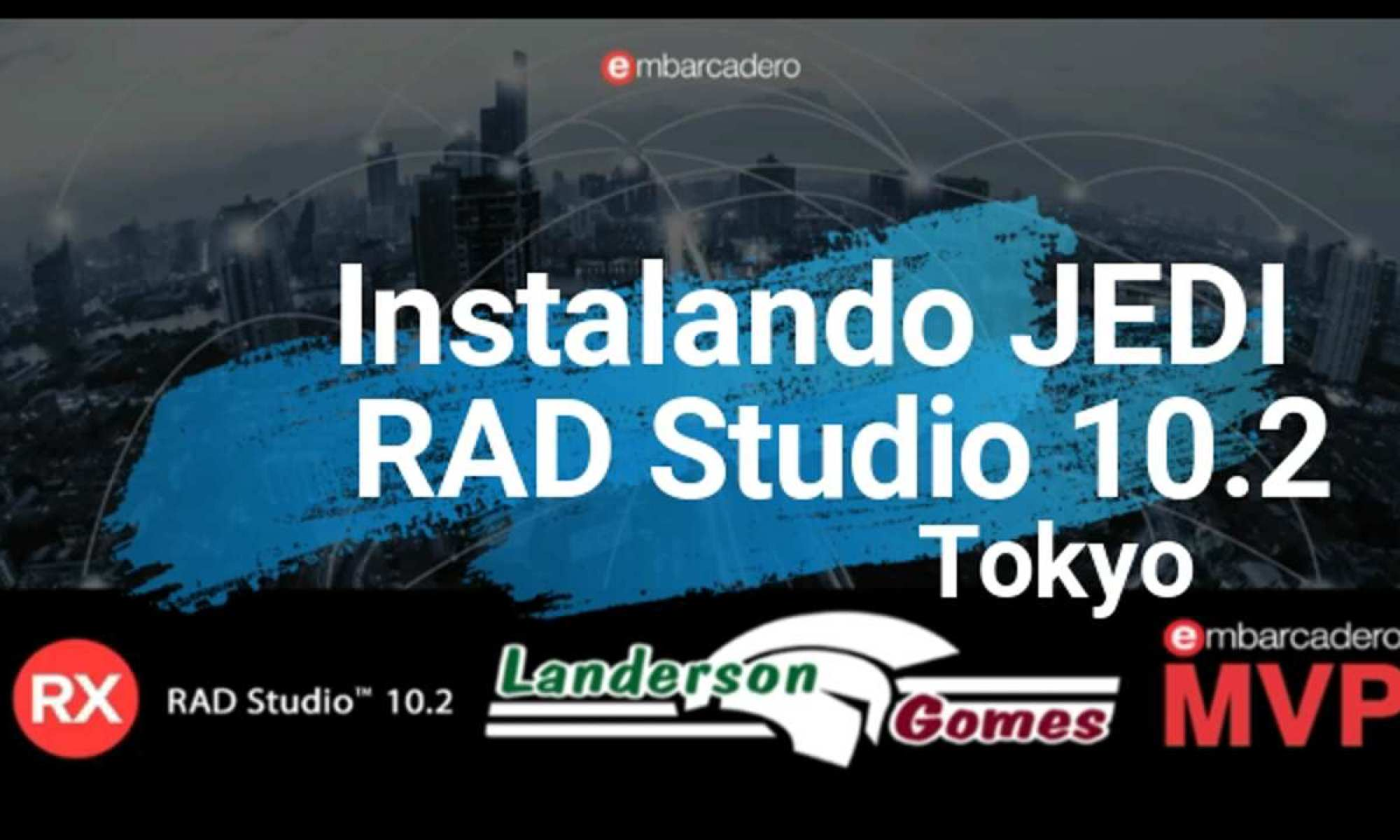 Instalando Componentes JEDI no RAD Studio 10.2