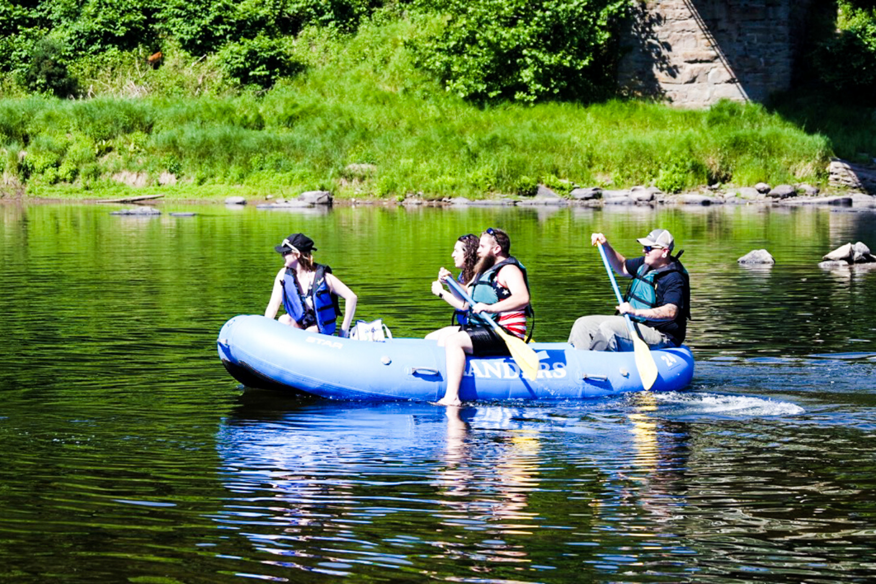 white water rafting delaware river