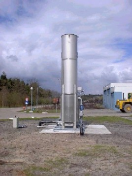 landfill gas flare monitoring