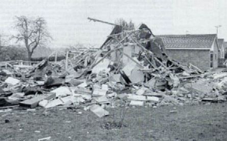 Loscoe Landfill Gas explosion UK