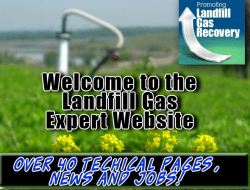 Welcome to the Landfill Gas Expert Website