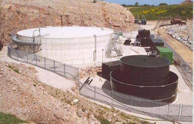 landfill leachate modern plant