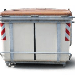 General waste skip for hire