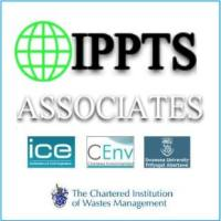 Banner for IPPTS Associates environmental engineering consultancy website.