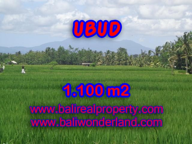 Land for sale in Bali, amazing view in Central Ubud – TJUB354