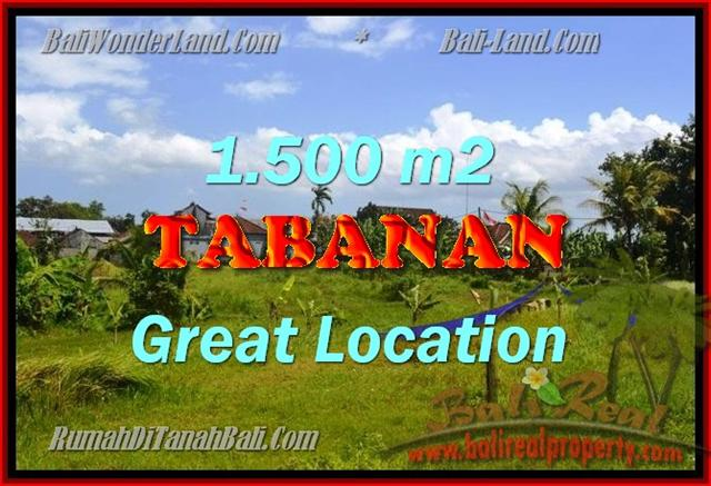 Excellent Property for sale in Bali, land for sale in Tabanan Bali  – TJTB144
