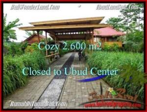 Affordable LAND IN Sentral Ubud BALI FOR SALE TJUB491