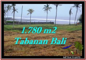 Magnificent TABANAN BALI 1,780 m2 LAND FOR SALE TJTB249