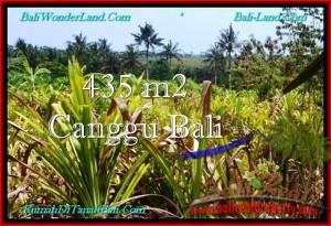 Exotic PROPERTY CANGGU BALI 435 m2 LAND FOR SALE TJCG196